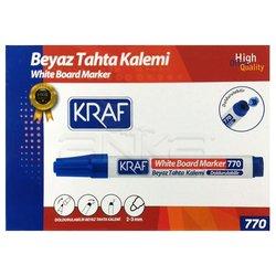 Kraf - Kraf Beyaz Tahta Kalemi 12li Mavi (1)
