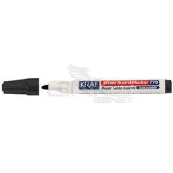Kraf - Kraf Beyaz Tahta Kalemi 12li Siyah (1)
