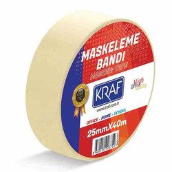 Kraf Maskeleme Bandı 25mmx40mt - Thumbnail