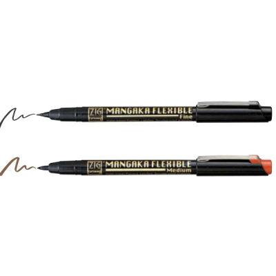 Zig Kuretake Cartoonist Mangaka Flexible Pen