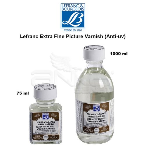 Lefranc Extra Fine Picture Varnish (Anti-uv)