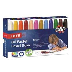 Lets - Lets 12 Renk Pastel Boya L-6120