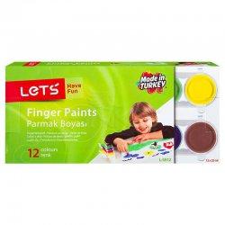 Lets - Lets Parmak Boyası 12 Renk 25ml L-5512