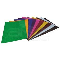 Lino Karadeniz - Lino A4 Simli Karton 10 Renk