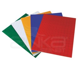 Lino Karadeniz - Lino A4 Yanar Döner Hologramlı Kağıt 5 Renk 10 Adet