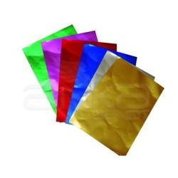 Lino Karadeniz - Lino Alüminyum Folyo Kağıt 6 Renk 10 Adet