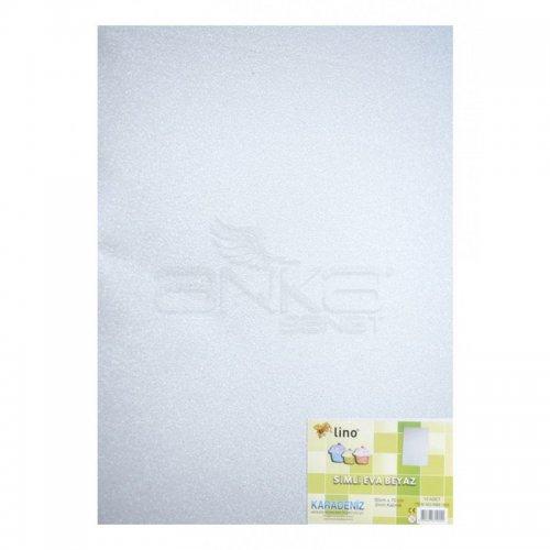 Lino Karadeniz Eva Simli 50x70cm 2mm Beyaz 10lu RBE505