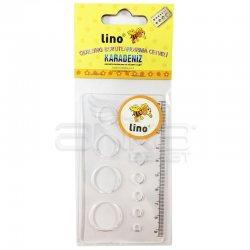 Lino Karadeniz - Lino Quilling Boyutlandırma Cetveli