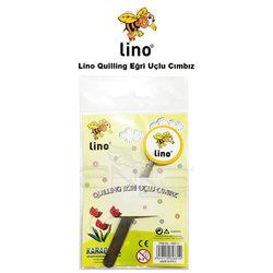Lino Karadeniz - Lino Quilling Eğri Uçlu Cımbız