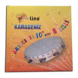 Lino Karadeniz - Lino Tamburin 10inch 8 Zilli