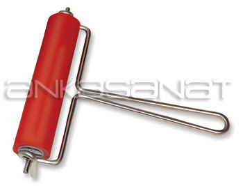 Abig Linol Merdane 15cm Metal Saplı (Mürekkep Merdanesi)
