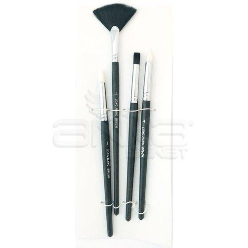 Long Jiang 4lü Fırça Seti