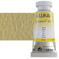 Lukas - Lukas Aquarell 1862 Artist 24ml Sulu Boya 1012 Gold Seri 3