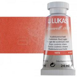 Lukas - Lukas Aquarell 1862 Artist 24ml Sulu Boya 1072 Cadmium Red Light Seri 3