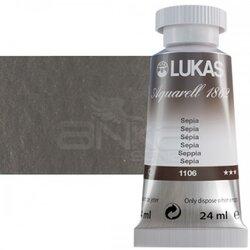 Lukas - Lukas Aquarell 1862 Artist 24ml Sulu Boya 1106 Sepia Seri 2