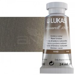 Lukas - Lukas Aquarell 1862 Artist 24ml Sulu Boya 1110 Umbra Naturel Seri 2
