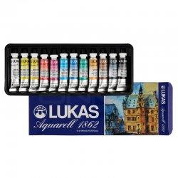 Lukas - Lukas Aquarell 1862 Artist Sulu Boya 12x10ml 6727