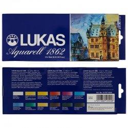 Lukas - Lukas Aquarell 1862 Artist Sulu Boya 12x10ml 6727 (1)
