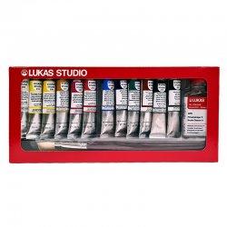 Lukas - Lukas Studio Yağlı Boya Seti Sliding Box 12x20ml 6472