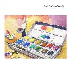 Lukas - Lukas Sulu Boya Takımı Tablet 12 Renk (1)