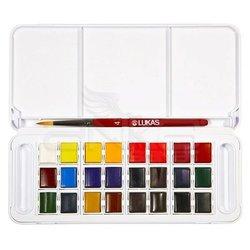 Lukas - Lukas Sulu Boya Takımı Tablet 24 Renk