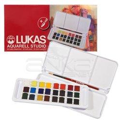 Lukas - Lukas Sulu Boya Takımı Tablet 24 Renk (1)
