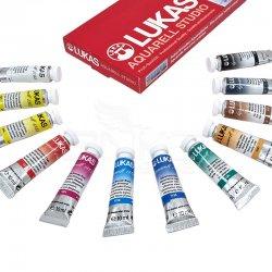 Lukas - Lukas Sulu Boya Takımı Tüp 12 Renk 12ml 6104 (1)