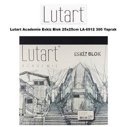 Lutart - Lutart Academie Eskiz Blok 25x25cm LA-6912 300 Yaprak