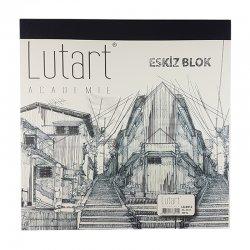 Lutart - Lutart Academie Eskiz Blok 25x25cm LA-6912 300 Yaprak (1)