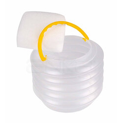 Lutart - Lutart Fırça Yıkama Kabı Plastik LA-6486