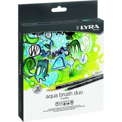 Lyra - Lyra Aqua Brush Duo Fırça Uçlu Kalem 36lı Set
