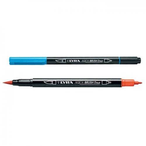 Lyra Aqua Brush Duo Fırça Uçlu Kalem