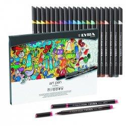 Lyra - Lyra Hi-Quality Metal Art Pen 20li Set