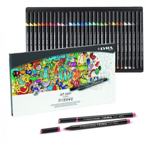 Lyra Hi-Quality Metal Art Pen 30lu Set