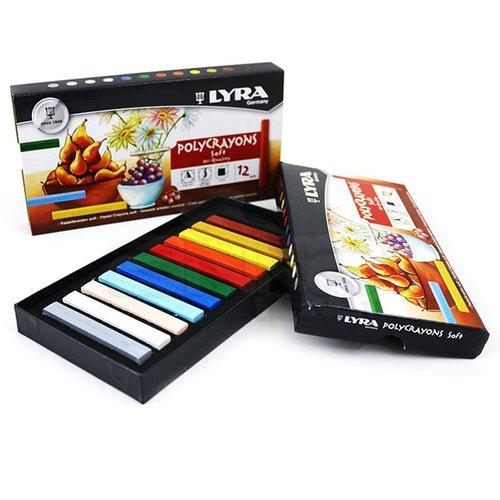 Lyra Polycrayons Toz Pastel Boya 12 Renk 5651120
