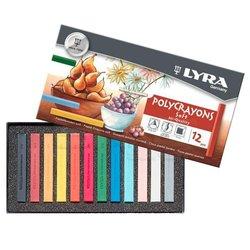 Lyra Polycrayons Toz Pastel Boya 12 Renk 5651120 - Thumbnail