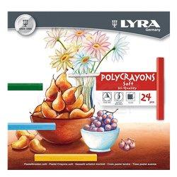 Lyra - Lyra Polycrayons Toz Pastel Boya 24 Renk 5651240 (1)