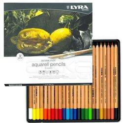 Lyra Rembrandt Aquarell Sulu Boya Kalemi 24lü - Thumbnail
