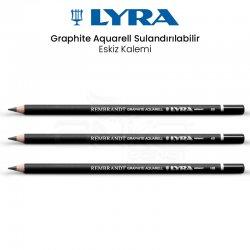 Lyra - Lyra Rembrandt Graphite Aquarell Sulandırılabilir Eskiz Kalemi