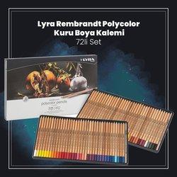 Lyra - Lyra Rembrandt Polycolor Kuru Boya Kalemi 72li Set (1)