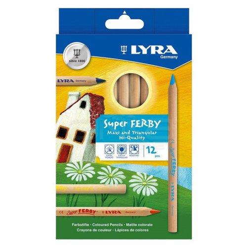 Lyra Super Ferby Nature 12li Kuru Boya Seti L3711120