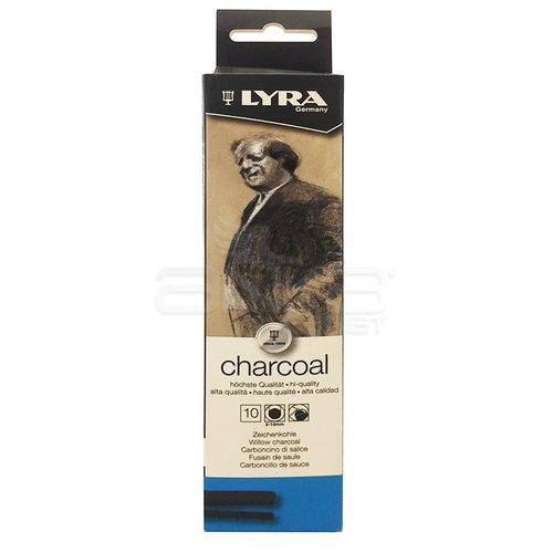 Lyra Willow Charcoal Doğal Füzen 2-10mm 10 Adet 5551100