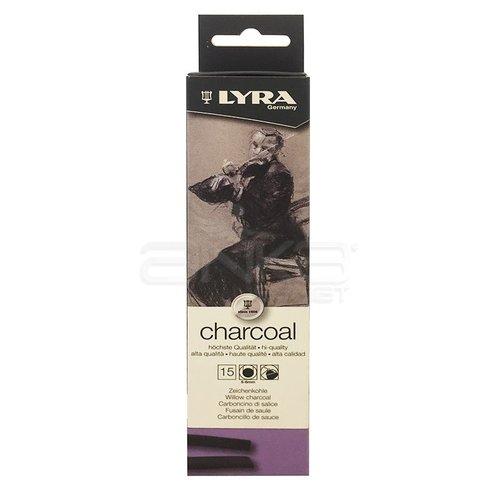 Lyra Willow Charcoal Doğal Füzen 5-6mm 15 Adet 5550020