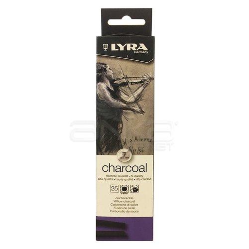 Lyra Willow Charcoal Doğal Füzen 5-6mm 25 Adet 5550021