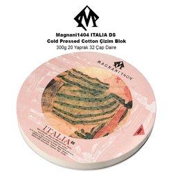 Magnani1404 ITALIA DS Cold Pressed Cotton Çizim Blok 300g 20 Yaprak 32 Çap Daire - Thumbnail