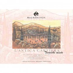 Magnani1404 - Magnani1404 L antica Cartiera Cold Pressed Çok Amaçlı Blok 300g 30 Yaprak 30x40 (1)