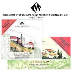 Magnani1404 - Magnani1404 TOSCANA DS Rough Akrilik ve Sulu Boya Blokları 300g 20 Yaprak