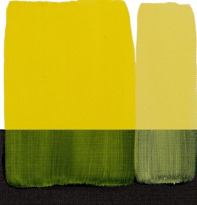 Maimeri Acrilico Akrilik Boya 112 Permanent Yellow Lemon 200ml - 112 Permanent Yellow Lemon