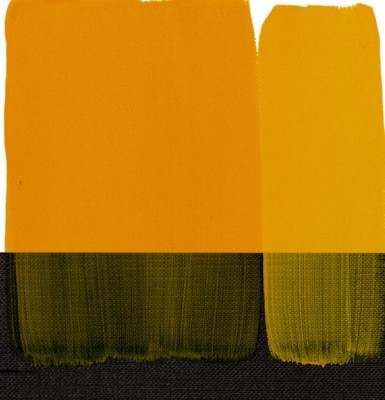 Maimeri Acrilico Akrilik Boya 113 Permanent Yellow Medium 200ml - 113 Permanent Yellow Medium