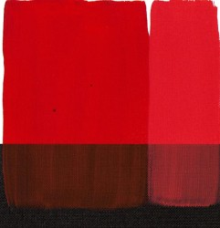 Maimeri - Maimeri Acrilico Akrilik Boya 259 Permanent Red Medium 200ml